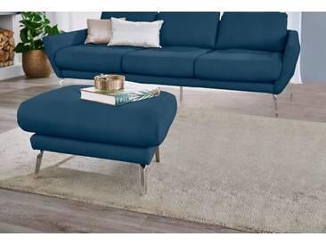 W.SCHILLIG Hocker »softy«, mit Heftung im Sitz, blau, blue