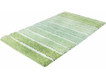 Kleine Wolke Badematte »Phoenix« , Höhe 35 mm, rutschhemmend beschichtet, fußbodenheizungsgeeignet, grün, 35 mm, alge