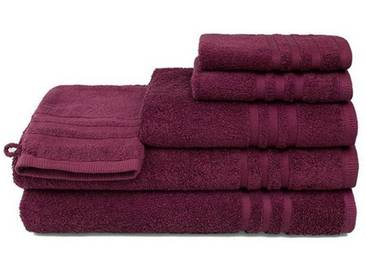 grace grand spa Handtuch Set »3er-Pack Aktion«, rot, rot