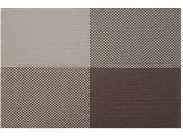 Contento contento Tischsets, »Zarah«, 45x30 cm (4 Stück), grau, Vinyl, dunkelgrau