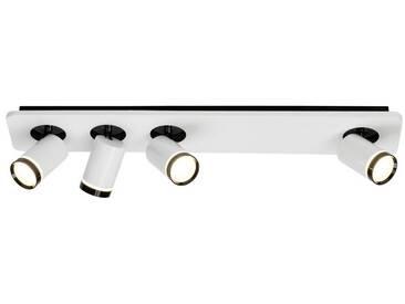 AEG Sol LED Spotbalken 4flg weiß-glänzend/schwarz, weiß, weiß-glänzend/schwarz