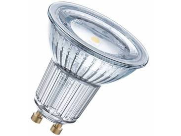Osram LED SUPERSTAR - Dimmbare Lampe, Retrofit-Stecksockel »SST PAR16 80 120 7.2W/827 GU10«, weiß, transparent