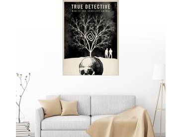 Posterlounge Wandbild - Albert Cagnef »True detectives«, bunt, Acrylglas, 120 x 160 cm, bunt