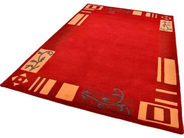 THEKO Teppich »Hawai 7098«, rechteckig, Höhe 14 mm, rot, 14 mm, rot