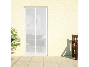 hecht international HECHT Insektenschutz-Vorhang »DELUXE«, weiß, BxH: 100x220 cm, weiß, Türen, 100 cm x 220 cm, weiß