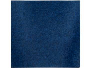 Andiamo ANDIAMO Teppichfliese »Rippe«, 4 Stück (1 m²) selbstklebend in beige, blau, blau