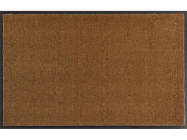 HANSE Home Fußmatte »Deko Soft«, rechteckig, Höhe 7 mm, saugfähig, waschbar, natur, 7 mm, natur