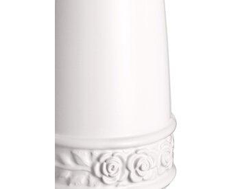 heine home WC-Garnitur mit Rosenrelief, weiß, weiß