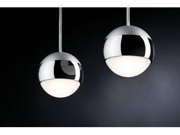 Paulmann LED Deckenleuchte »URail LED Pendel 4,5W Capsule 230V Chrom matt«, Schienensystem, 1-flammig, silberfarben, 1 -flg. /, chromfarben