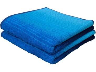 Dyckhoff Handtücher »Colori«, mit Farbverlauf, blau, Walkfrottee, blau