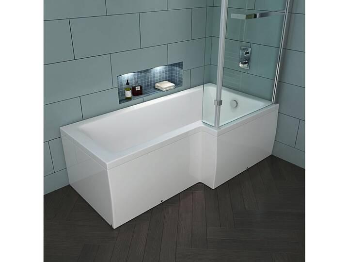 Badewannen und Whirlpools - HOME DELUXE Badewanne »Elara«, in 2 Ausführungen, 85 cm x Wanne links, 170 cm, 170 cm  - Onlineshop Moebel.de