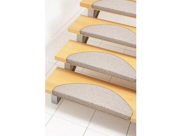 Andiamo Stufenmatte »Bob«, stufenförmig, Höhe 4,5 mm, Melange-Effekt, natur, 15 St., beige
