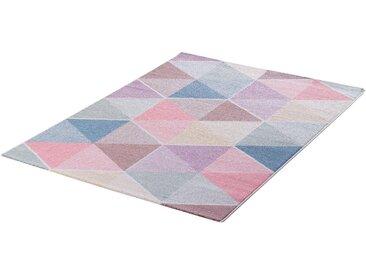Sanat Kinderteppich »Luna Kids 4607«, rechteckig, Höhe 12 mm, warme pastell Farben, Kurzflor