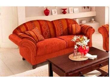 Home affaire Sofa »Colombo«, Breite 192 cm, mit Federkern, braun, terra