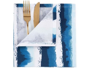 BUTLERS AQUA »Stoffserviette 45x45cm«, blau, blau