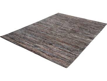 THEKO Teppich »Nanda«, rechteckig, Höhe 11 mm, von Hand geknüpft, grau, 11 mm, grau