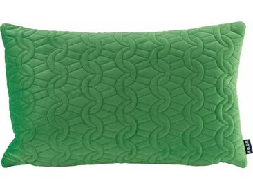 H.O.C.K. H.o.c.k. Kissen »Soft Nobile« 50/30 cm, grün, grün