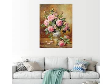 Posterlounge Wandbild - Albert Williams »Rosa Rosen«, bunt, Acrylglas, 120 x 160 cm, bunt
