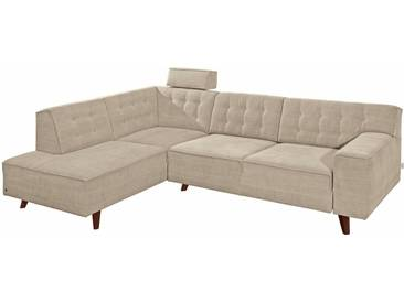 Tom Tailor Ecksofa »Nordic Chic«, natur, 249 cm, Ottomane links, natur