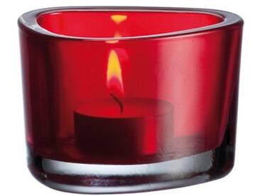 LEONARDO Tischlicht »Organic«, rot, Rot