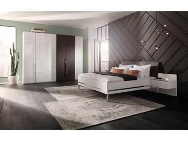 nolte® Möbel Schlafzimmer-Set »concept me 230«, mit Koffertüren, weiß, Basisausführung ohne Beleuchtung, Liegefläche 140x200, Schrankbreite 300, Liegefläche 140x200
