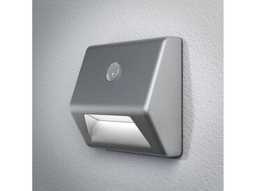 Osram Nachtlicht, batteriebetrieben, mit Licht- und Bewegungssensor »NIGHTLUX Stair«, silberfarben, silber