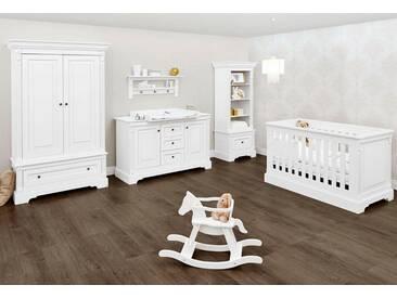 Pinolino® Pinolino Babyzimmer Set, Kinderzimmer »Emilia« extrabreit (3-tlg.), weiß, weiß