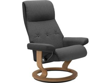 Stressless® Relaxsessel »Sky« mit Classic Base, Größe M, Gestell naturfarben, grau, dark grey Q2