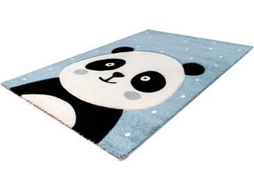 LALEE Kinderteppich »Amigo 322«, rechteckig, Höhe 15 mm, blau, 15 mm, blau