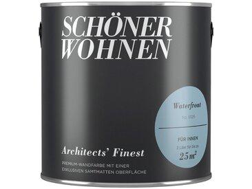 SCHÖNER WOHNEN-Kollektion SCHÖNER WOHNEN FARBE Wand- und Deckenfarbe »Architects' Finest - Waterfront«, 2 l, blau, Waterfront