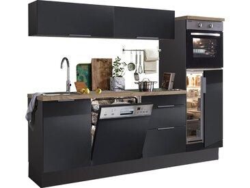 OPTIFIT Küchenzeile »Tara«, ohne E-Geräte, Breite 240 cm, grau, anthrazit