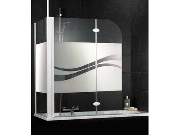 Schulte SCHULTE Badewannenaufsatz »Liane«, weiß, weiß