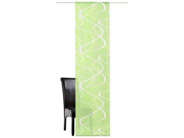 DEKO TRENDS Schiebegardine »Pelotas«, Klettband (1 Stück), ohne Montagezubehör, grün, Klettband, halbtransparent, grün