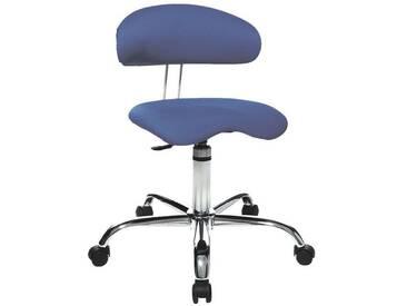 TOPSTAR Sitzhocker »Sitness 40«, blau, dunkelblau