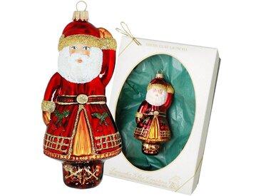 Krebs Glas Lauscha Christbaumschmuck »Weihnachtsmann« (1-tlg), mundgeblasen