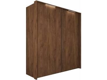 nolte® Möbel Schwebetürenschrank»Marcato 1A«, in zwei Breiten, braun, Breite 200 cm, 2 Türen, nussbaum Dekor