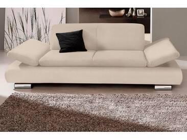 Max Winzer® 2-Sitzer »Toulouse«, mit klappbaren Armlehnen, Breite 190 cm, natur, 190 cm, beige