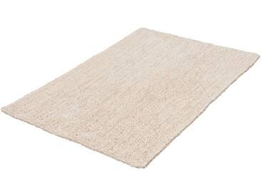 Kleine Wolke Badematte »Rico« , Höhe 10 mm, rutschhemmend beschichtet, fußbodenheizungsgeeignet, natur, 10 mm, sand-beige