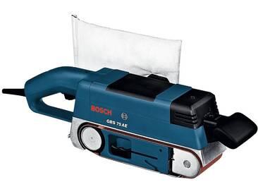 Bosch Professional BOSCH PROFESSIONAL Bandschleifer »GBS 75 AE«, mit Handwerkerkoffer, blau, blau