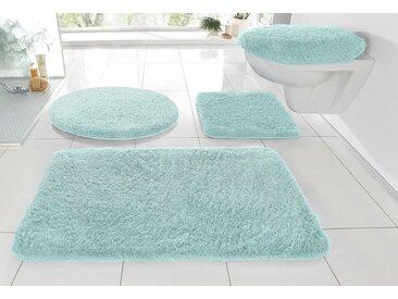 Kleine Wolke Badematte »RELAX« , Höhe 30 mm, rutschhemmend beschichtet, fußbodenheizungsgeeignet, grün, 30 mm, salbeigrün