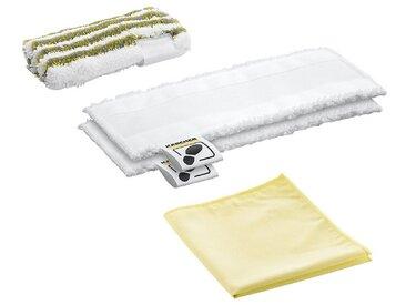 KÄRCHER Reinigungstücher »Mikrofaser Tuchset Bad, für Hand- und Bodendüse«, weiß, Weiß