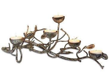 Mirabeau Kerzenhalter »Ambres«, natur, antikcreme