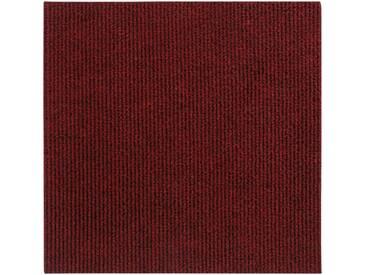 Andiamo ANDIAMO Teppichfliese »Rippe«, 4 Stück (1 m²) selbstklebend in beige, rot, rot