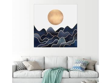 Posterlounge Wandbild - Elisabeth Fredriksson »Waves«, weiß, Acrylglas, 50 x 50 cm, weiß