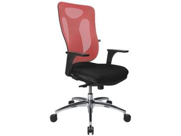 TOPSTAR Bürostuhl ohne Armlehnen »Net Pro 100«, rot, rot