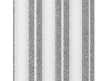 SCHÖNER WOHNEN-KOLLEKTION Vliestapete, P+S, »Streifen Tapete«, grau, grau
