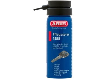 ABUS Pflegespray »PS88 B/D «, Zur universellen Pflege von Türzylindern und -schlössern, blau, blau