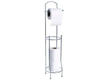 MSV Toilettenpapierhalter, silberfarben, chrom
