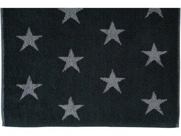 Cawö Badetuch »Stars Small«, mit Wendeseite, grau, anthrazit