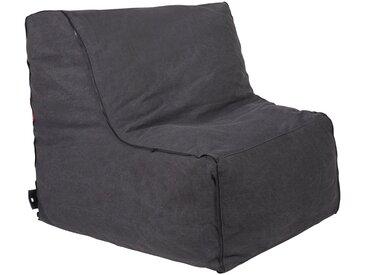 OUTBAG Sitzsack »Piece w/zipper Plus«, wetterfest, für den Außenbereich, BxT: 90x115 cm, schwarz, schwarz